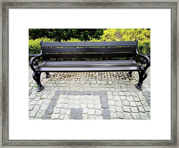 Lonely Bunch Framed Print