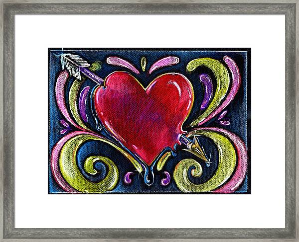 Lonely Hearts Framed Print