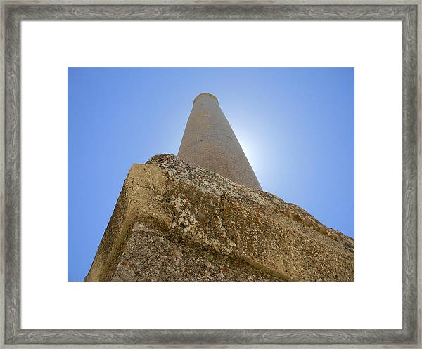 Lonely In Heliopolis Framed Print