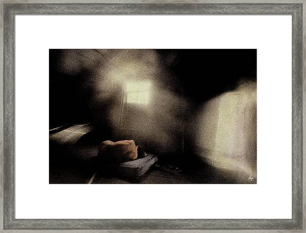 Lonely Nude Framed Print