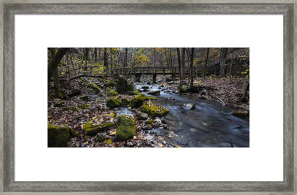 Lonesome Bridge Framed Print