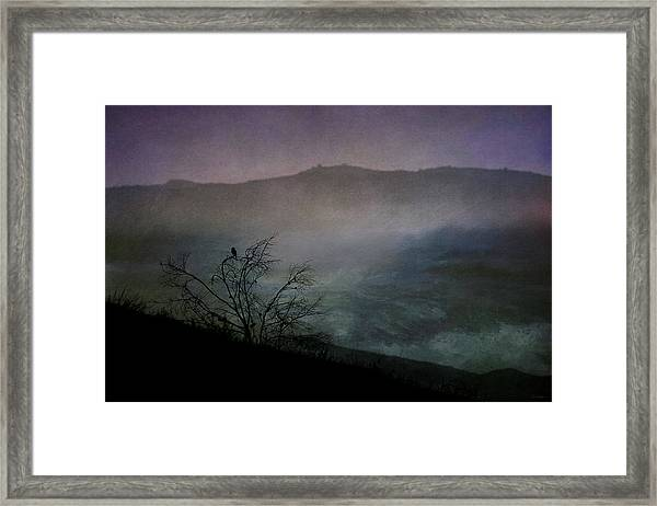 Lonesome Point Framed Print