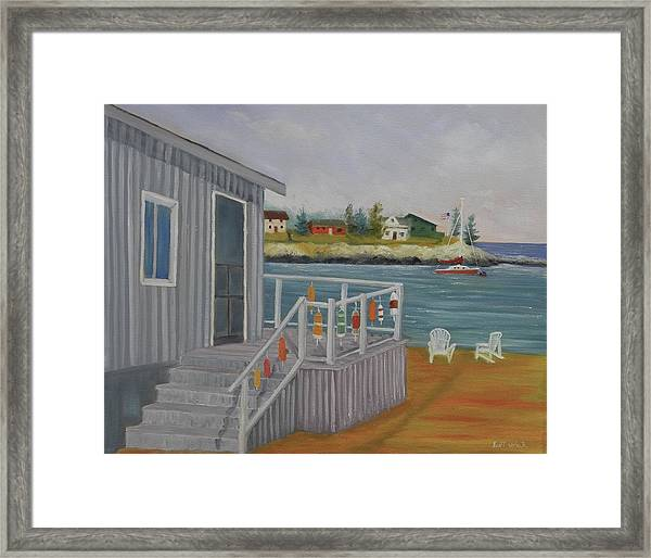 Long Cove View Framed Print