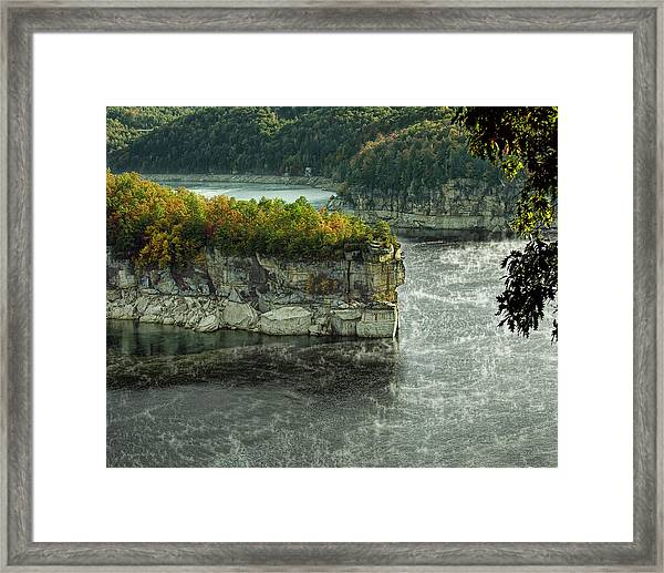 Long Point Clff Framed Print