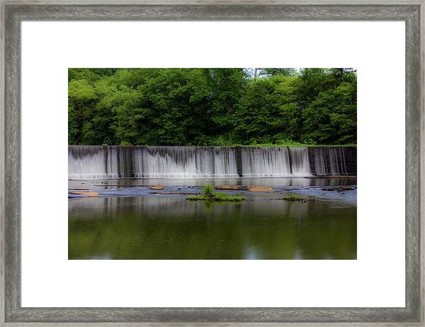 Long Waterfall Framed Print