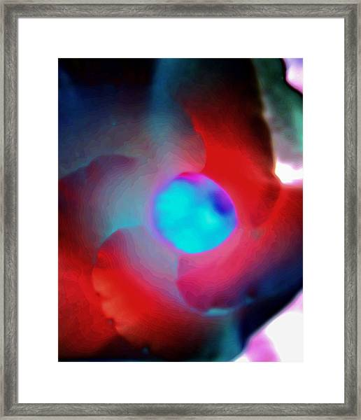 Look Into The Center Framed Print