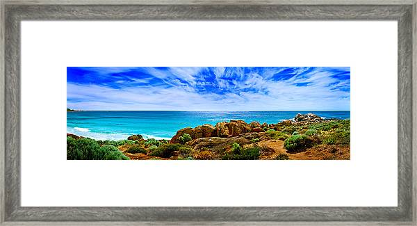 Look To The Horizon Framed Print