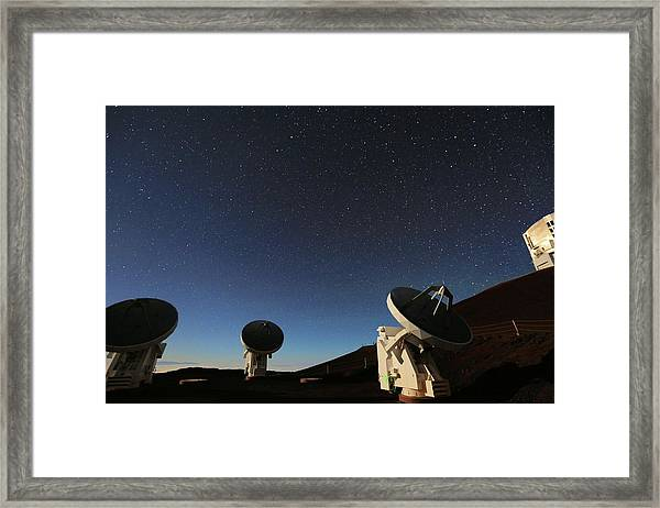 Looking For Space Framed Print