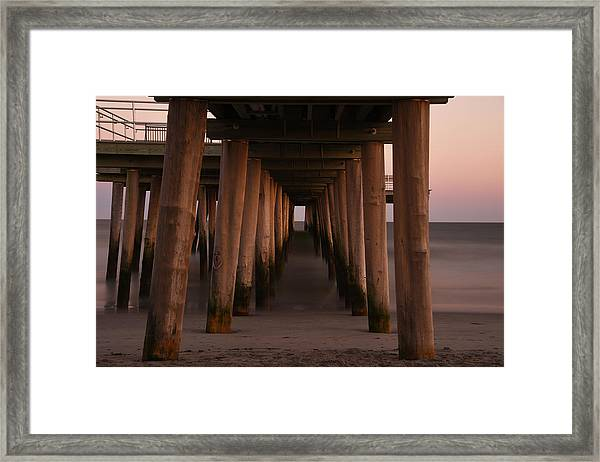 Looking Into Infinity Framed Print