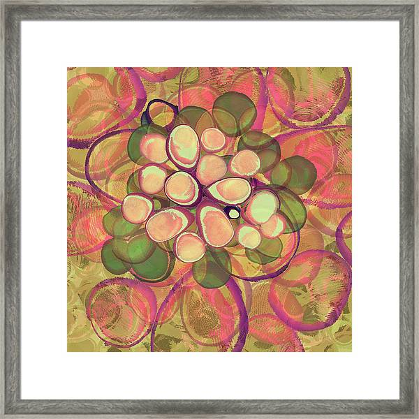 Loopy Dots #21 Framed Print