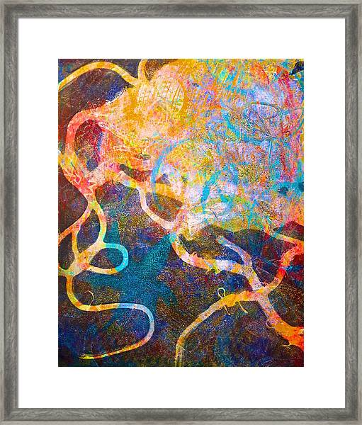 Loose Ends Framed Print