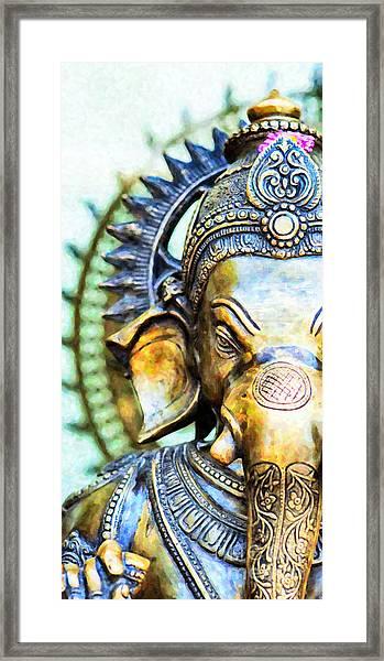 Lord Ganesha Framed Print