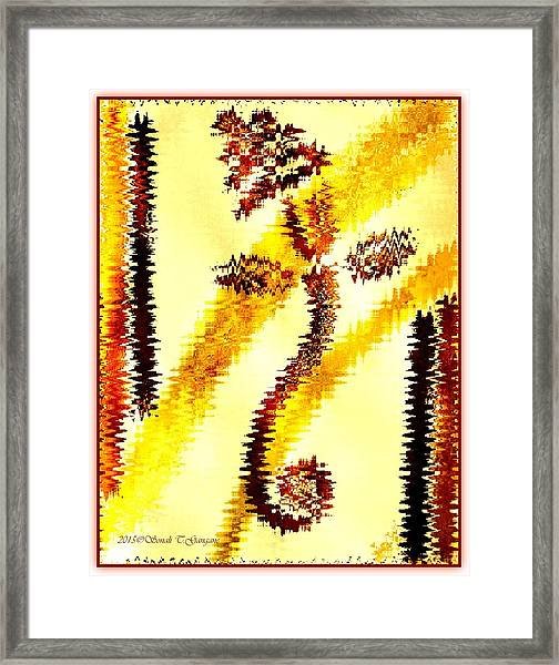 Lord Of Ganas Framed Print