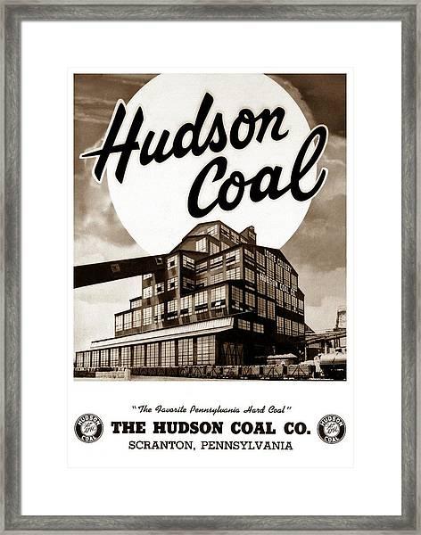 Loree Colliery Larksville Pa. Hudson Coal Co  Framed Print