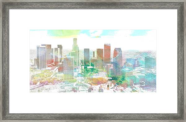 Los Angeles, California, United States Framed Print