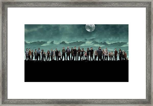 Lost 2004 Framed Print