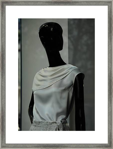 Lost Glance Framed Print