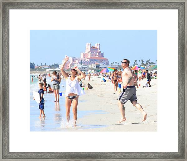 Lost In The Sun Framed Print
