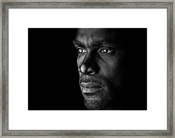 Lost In Thoughts Framed Print