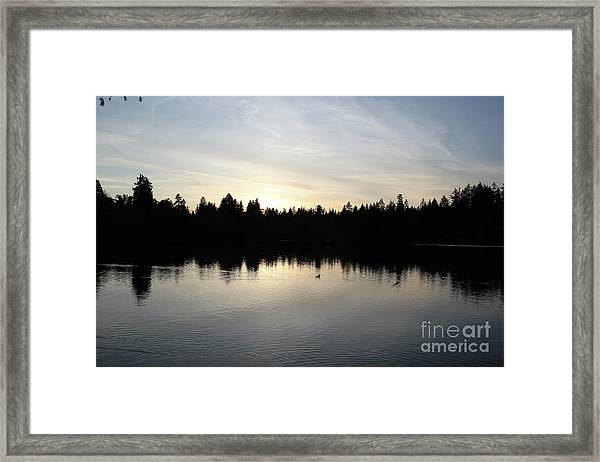 Lost Lagoon Framed Print