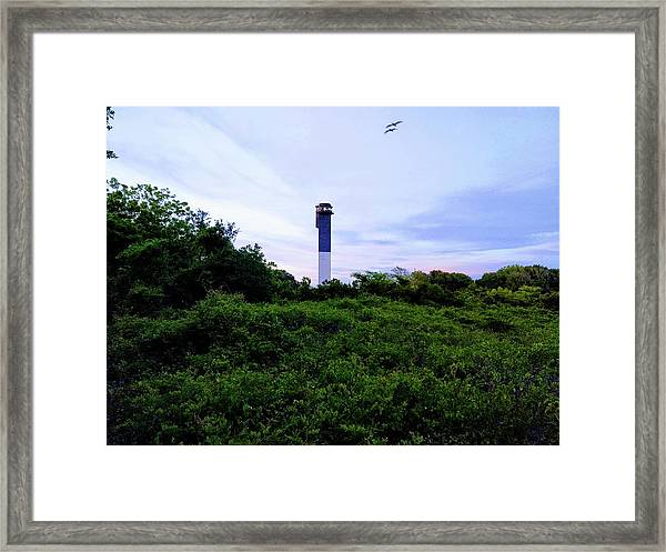 Lost Lighthouse Framed Print