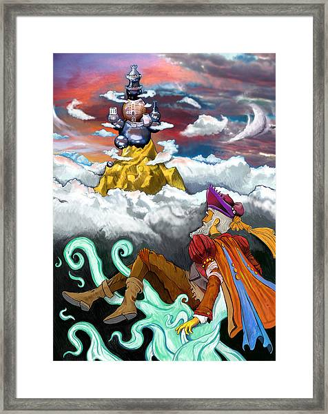 Lost Princess Framed Print