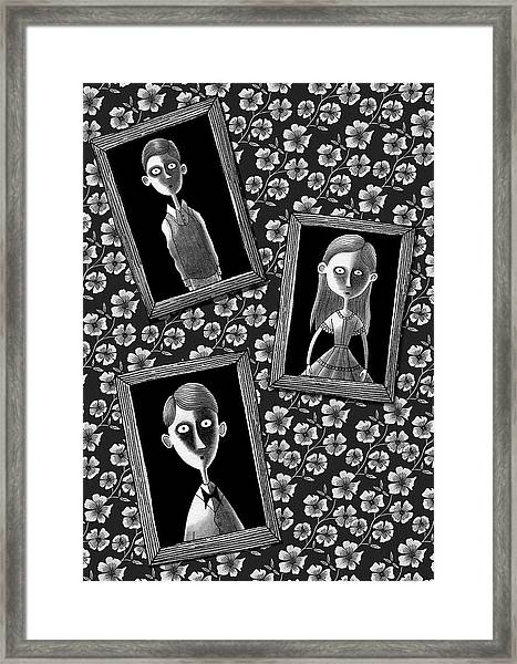 Lost Souls  Framed Print by Andrew Hitchen