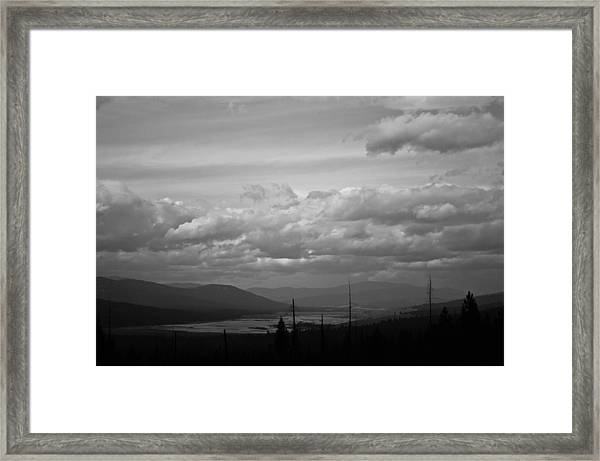 Lost Trail Wildlife Refuge Framed Print