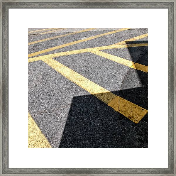 Lot Lines Framed Print