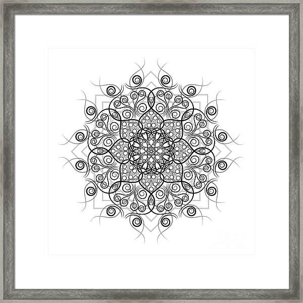 Lotus #1 Framed Print