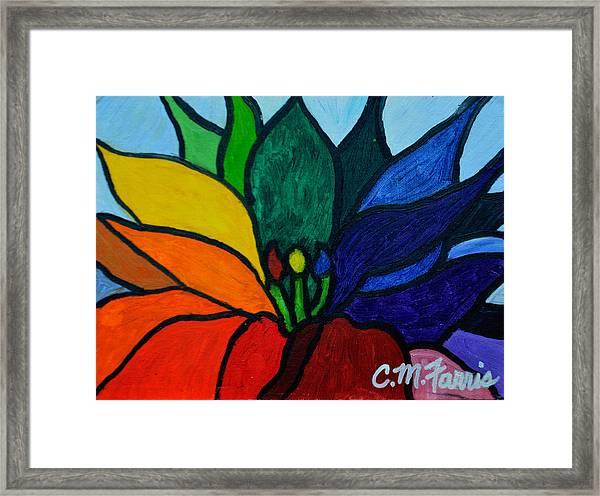 Lotus Flower 1 Framed Print