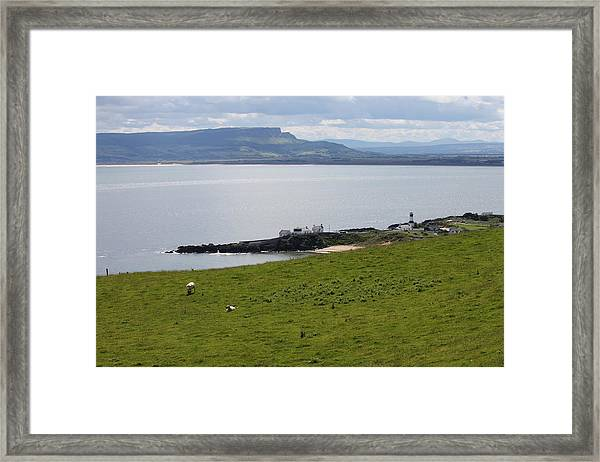 Lough Foyle 4210 Framed Print