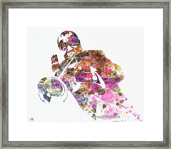 Louis Armstrong 2 Framed Print