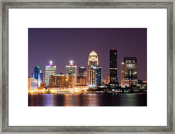 Louisville 1 Framed Print
