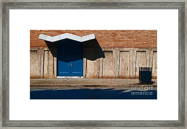 Louisville Wave Framed Print