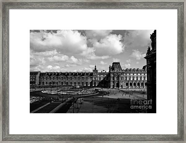 Louvre Museum Framed Print