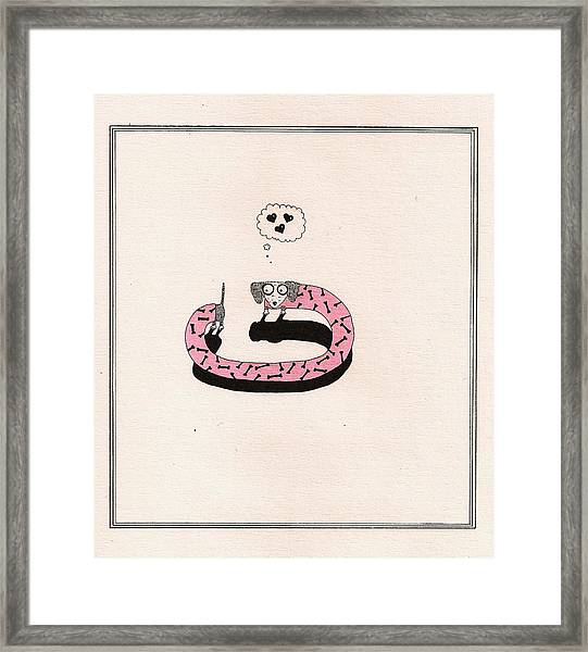 Love 2 Framed Print by Anastassia Neislotova