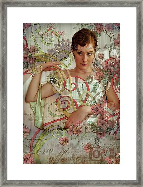 Love And Affection Framed Print