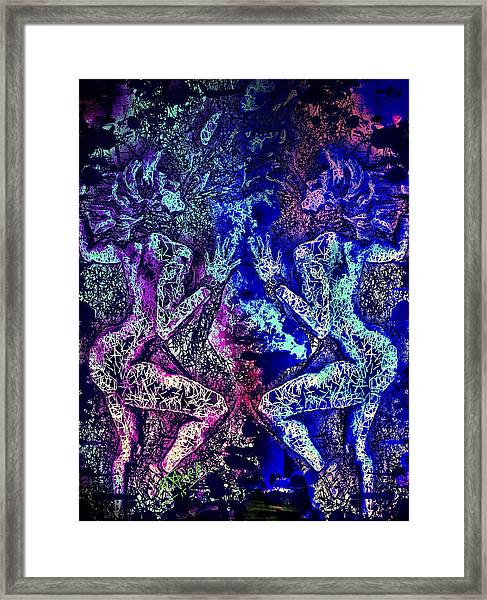 Love And Agony Framed Print