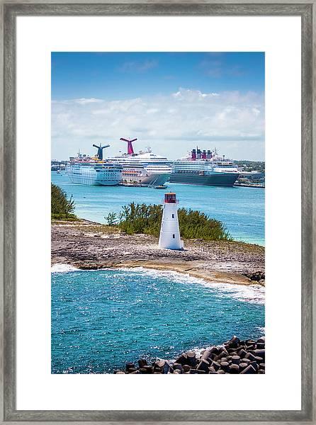 Love Boat Lane Framed Print