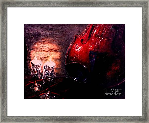Love For Music Framed Print