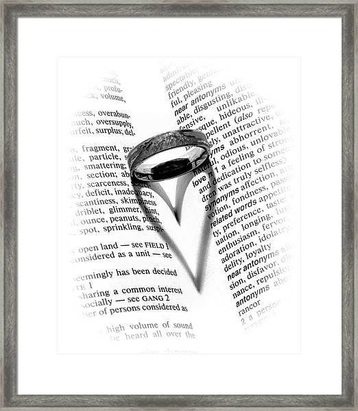 Love Handles Framed Print