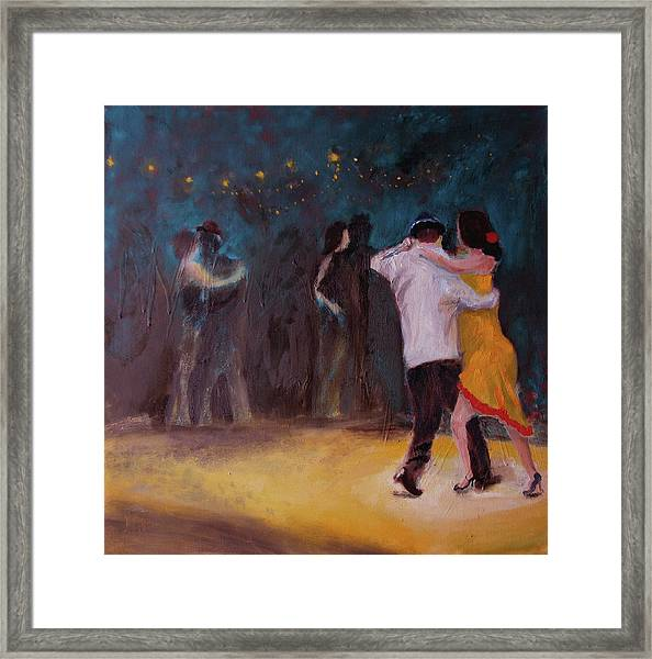 Love In The Spotlight Framed Print