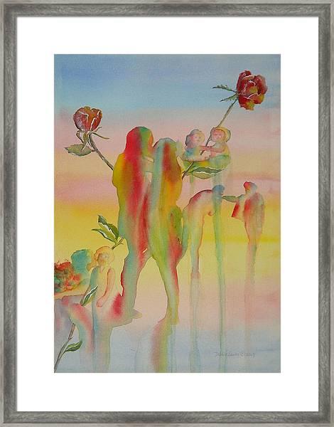 Love Is Eternal Framed Print