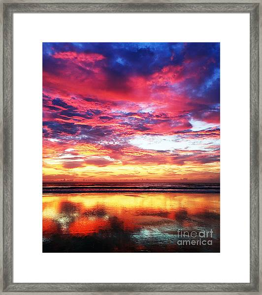 Love Is Real Framed Print