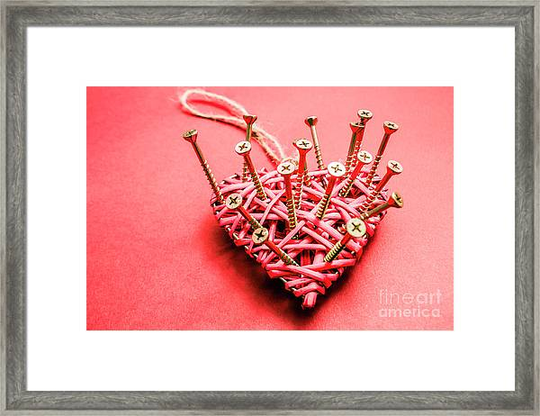 Love Loss And Letdown Framed Print