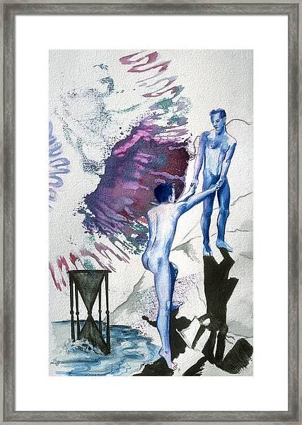 Love Metaphor - Drift Framed Print
