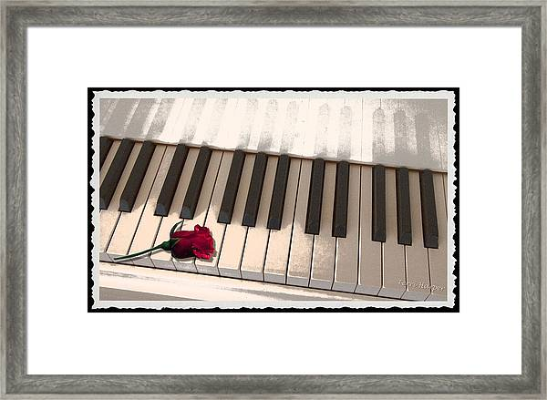 Love Notes Framed Print