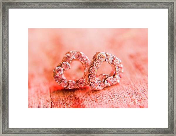 Love Of Crystals Framed Print