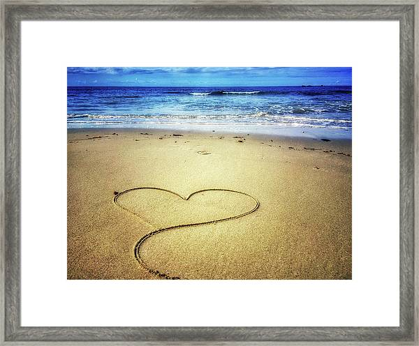 Love Of The Ocean Framed Print